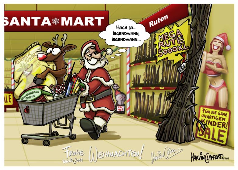 Weihnachtskarten Comic.Weihnachtskarten Marvin Clifford
